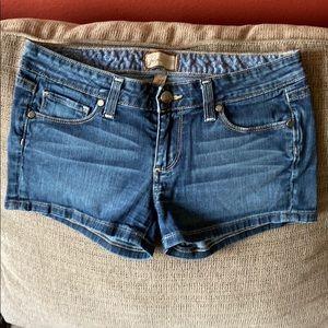 Paige sz 27 denim shorts